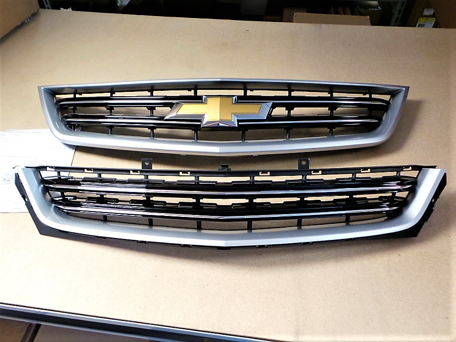 Grille, Silver Ice Metallic