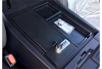 Tundra console safe - Toyota (00016-34174)