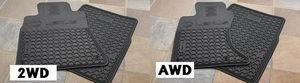 Floor Mats, All Weather - Lexus (PU320-4011R-AW)