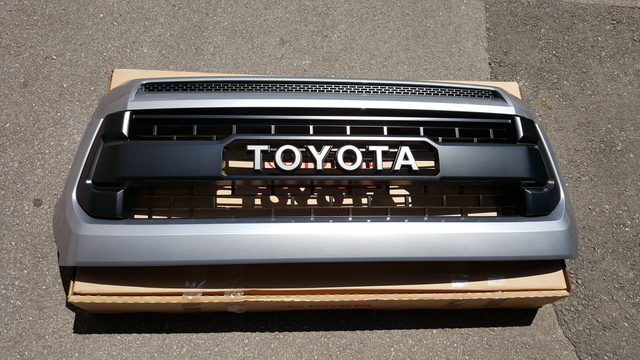 Genuine Toyota Pro Grille W/ Hood Bulge - Toyota (pro-grille-setup)