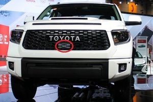 2019+ TRD Pro grille sensor cover - Toyota (53141-34010)