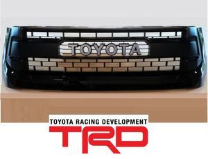 TRD Pro Grille Assembly - Black (202) - Toyota (53100-0C260-C0)