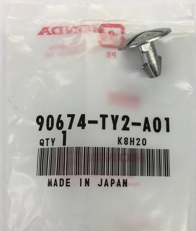 Genuine Honda Engine Cover Lower Pin Screw 90674