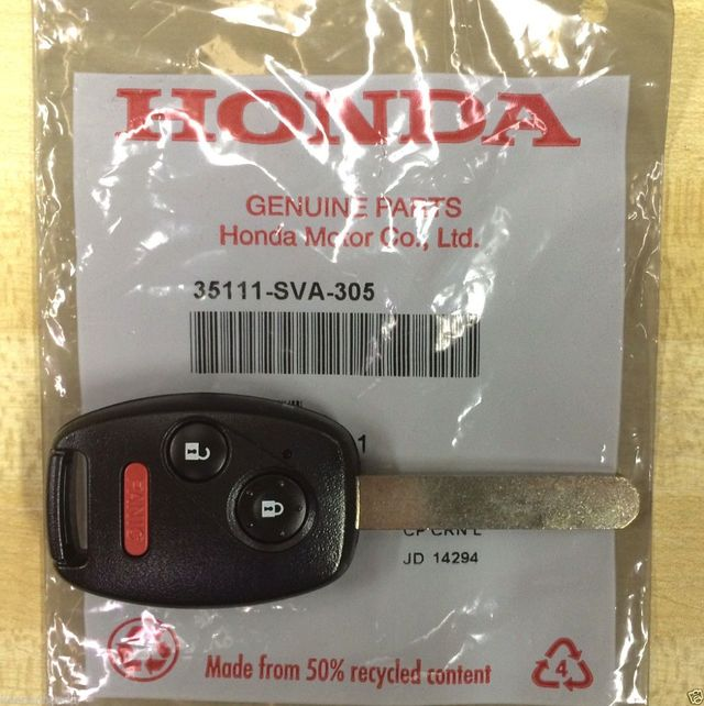 Genuine Honda 35111-SVA-305 Key