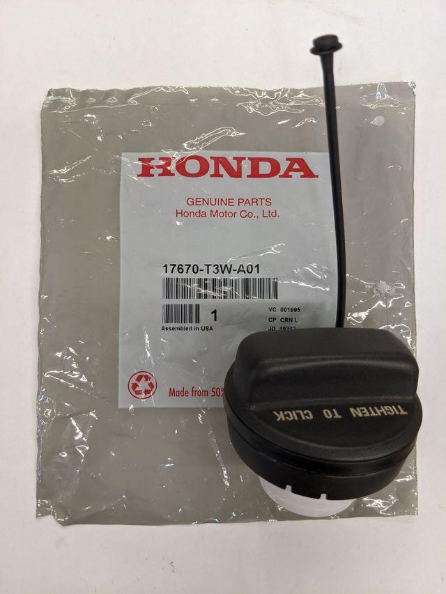 New Genuine Honda Gas Fuel Filler Cap OEM tank w// Tether 17670T3WA01