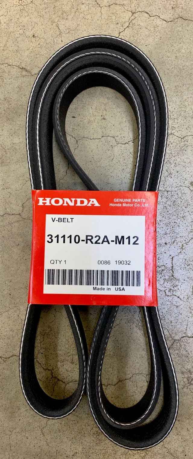 Genuine Honda Alternator Serpentine Belt 31110