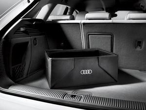 Interior Cargo Box - Black - Audi (8u0061109)