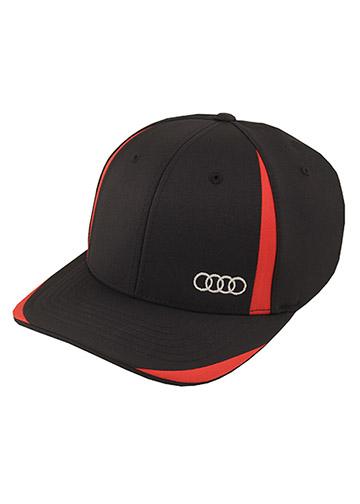 Flexfit Cool & Dry Cap - Audi (ACM4102-BLK-SMed)