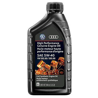 5W-40 Audi Engine Oil 502-00 505-00 - Audi (G-E55-540-1Q-DSP)
