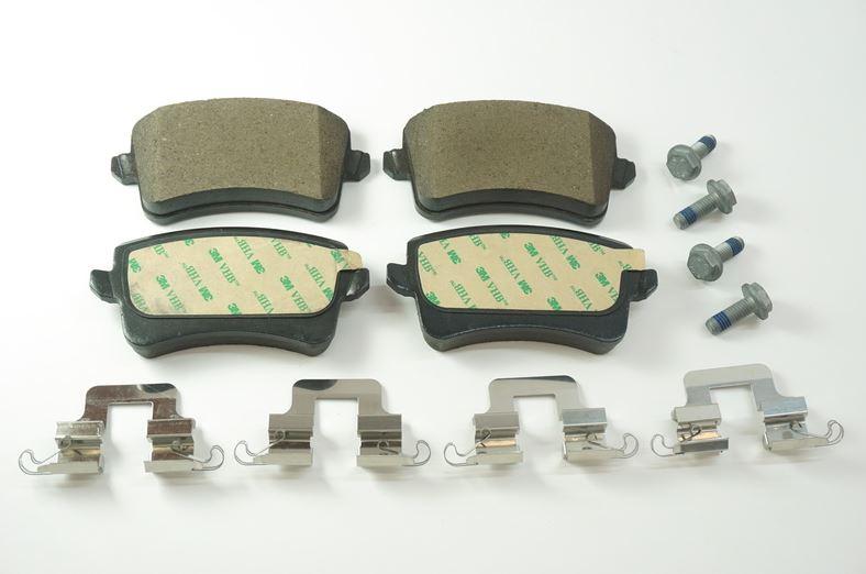 Disc Brake Pad Set - Audi (8K0-698-451-A)