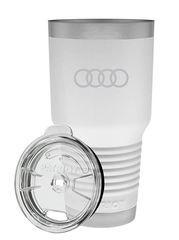 Audi White 20 oz Tumbler Mug - Audi (ACM-B17-6)
