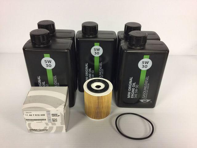 Oil change kit for r/50/r53 Mini Coopers - Mini (MINIOIL)