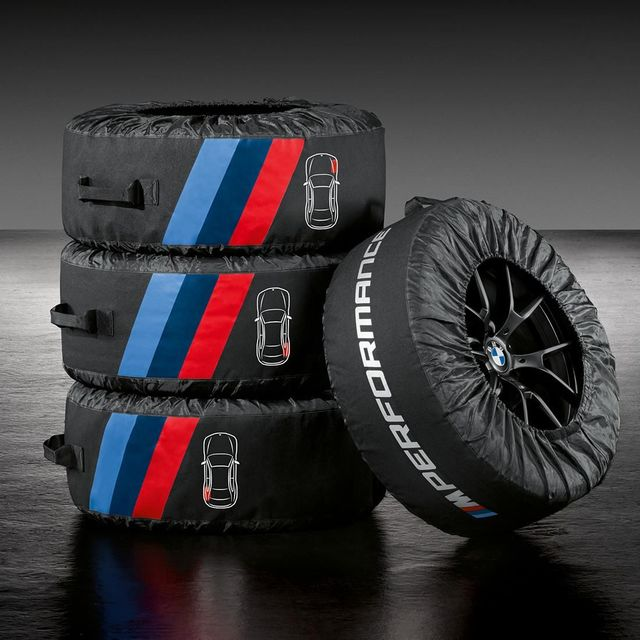M Performance Tire Bags 36132461758 - BMW (36-13-2-461-758)