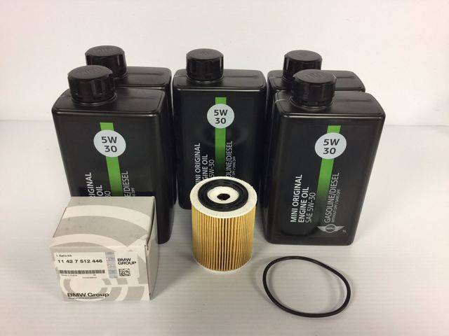 Oil change kit for r/50/r53 Mini Coopers - Mini (r50r53oilkit)