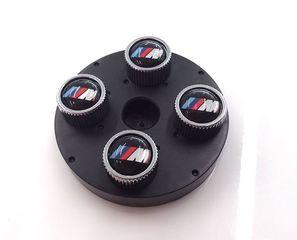 M Logo Valve Stem Cap Set 36110421543 - BMW (36-11-0-421-543)