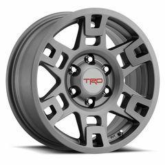 """Genuine Toyota TRD 17"""" Wheel Alloy Wheel Matte Gray PTR20-35110-GR OEM - Toyota (PTR20-35110-GR)"""