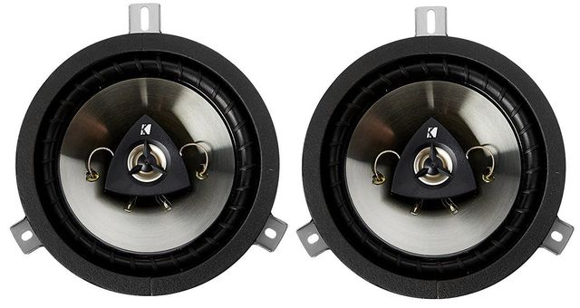 Jeep Chrysler Dodge Kicker Speaker 6.5 Inch Upgrade - 2-way Speakers Mopar Genuine OEM - Mopar (77KICK10)
