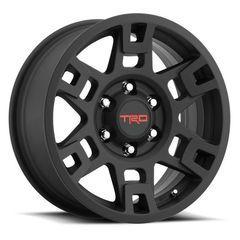 Toyota 17-In. TRD PRO Wheels Matte Black for 4Runner, FJ Cruiser, Tacoma OEM PTR20-35110-BK - Toyota (PTR20-35110-BK)