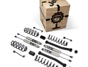 "2-Inch Lift Kit with 2.5"" Diameter FOX Shocks for 3.6L 4-Door Jeep Wrangler JL"