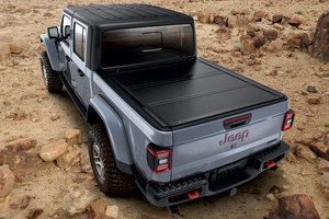 2020-2021 Jeep Gladiator JT Hard Tri-Fold Tonneau Bed Cover - Mopar (82215616)