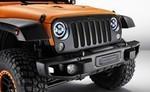 "LED 7"" Round Headlights for Jeep JK - Mopar (82214333AB)"