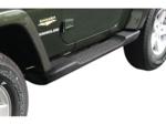 Factory Style Side Steps for 2007-17 Jeep Wrangler JK 2 Door - Mopar (82210565AD)