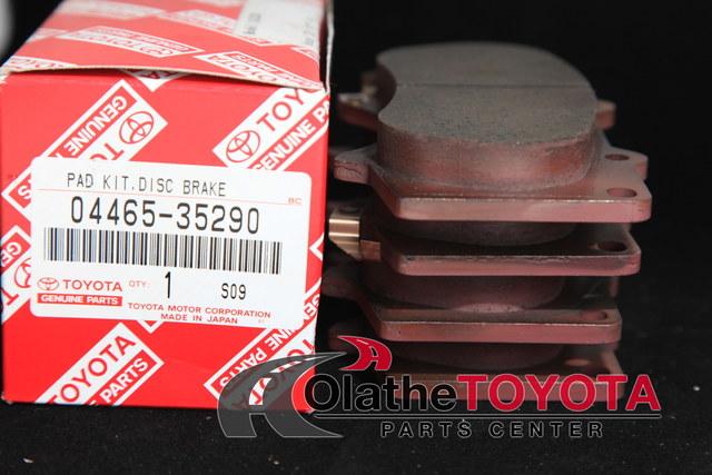 Brake Pads - Toyota (0446535290)