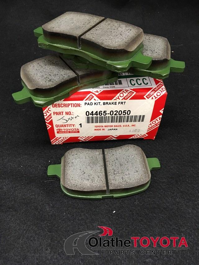 Brake Pads - Toyota (0446502050)