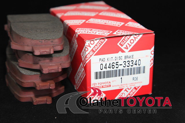 Brake Pads - Toyota (0446533340)