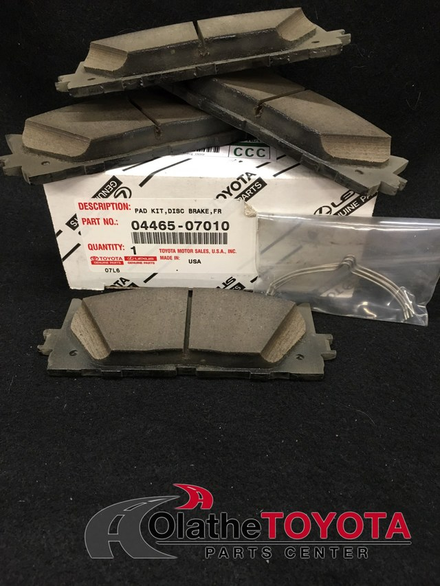 Brake Pads - Toyota (0446507010)