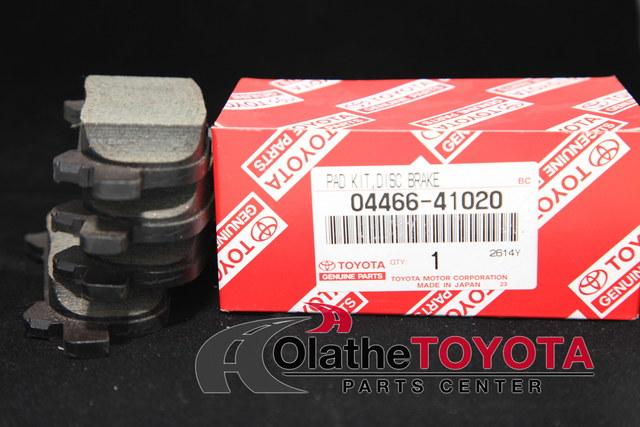 Brake Pads - Toyota (0446641020)