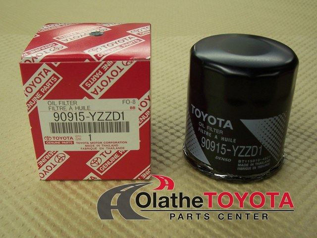 Oil Filter - Toyota (90915yzzd1)