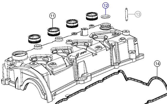 2012 fiat 500 engine diagram 2012 2020 fiat pcv seal 4893446ab tucson fiat parts  2012 2020 fiat pcv seal 4893446ab