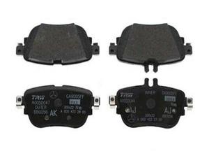 Rear Disk Brake Pads - Mercedes-Benz (000-420-98-00)