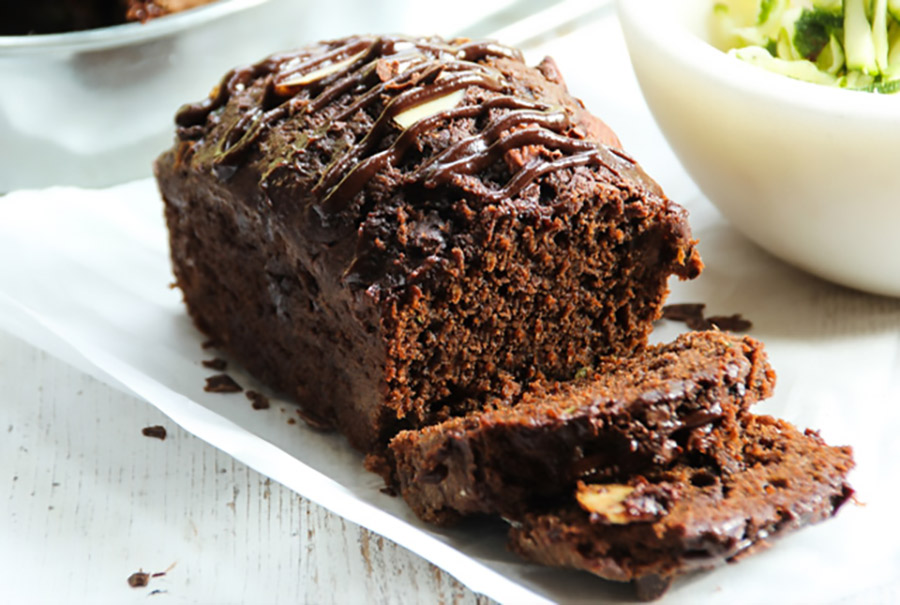 Sugar Free Chocolate Carrot Breakfast Bread
