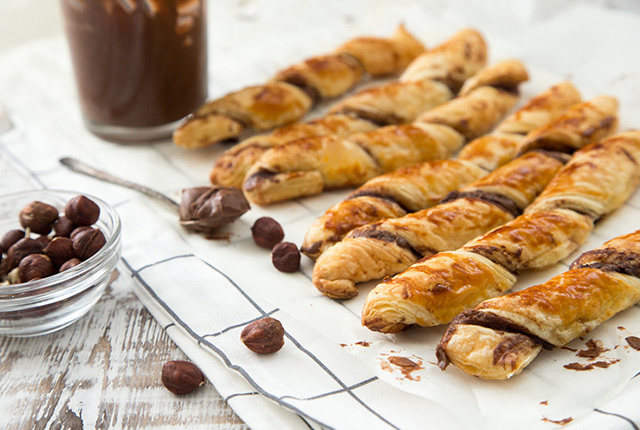 Cream Cheese Chocolate Apple Twists