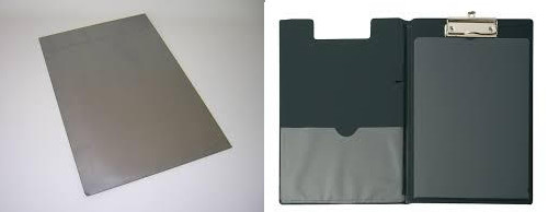 Steel sheet and clipboard