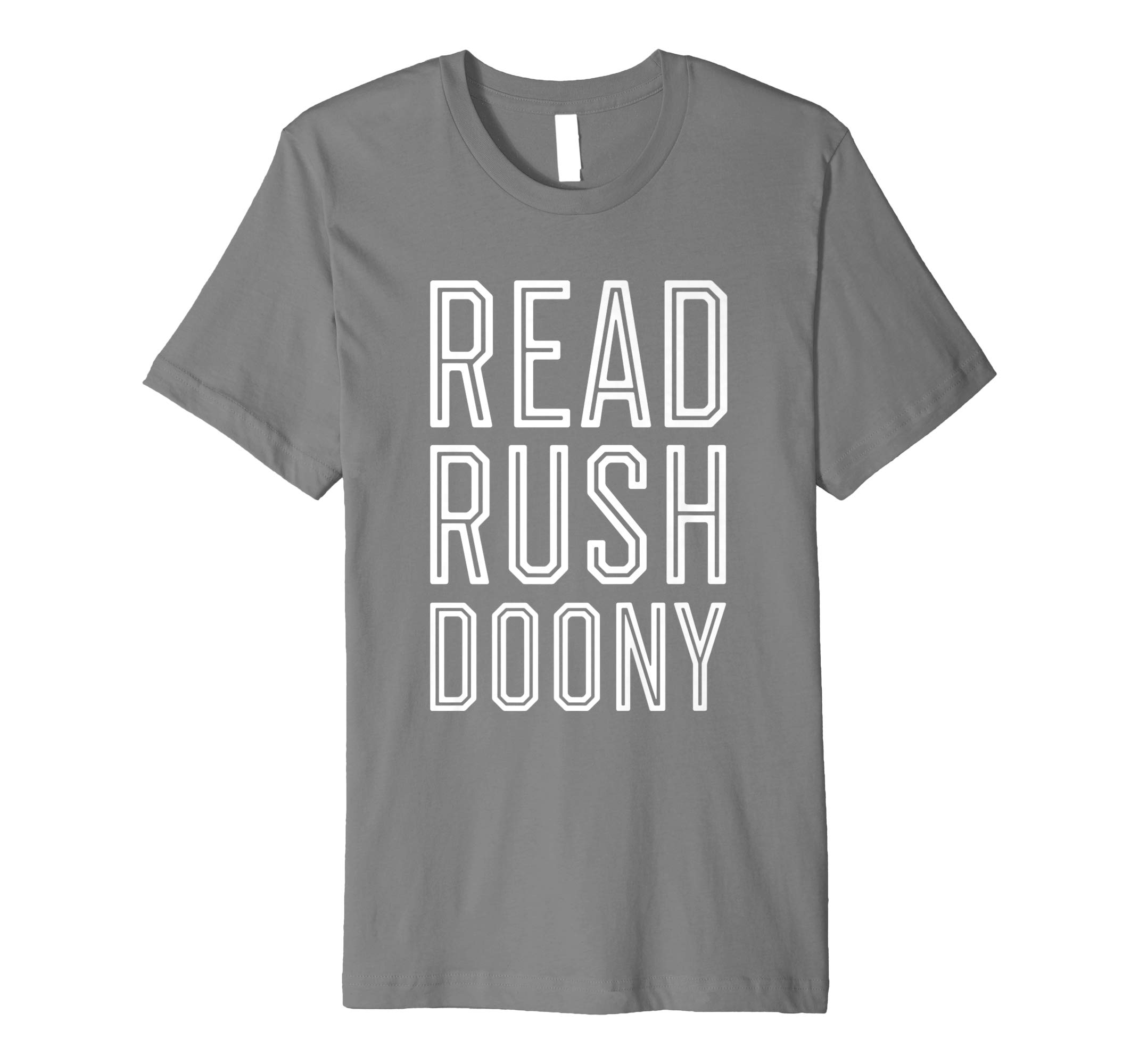 Read Rushdoony Shirt | Reconstructionist Radio
