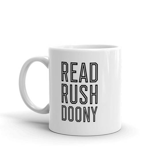 Read Rushdoony Coffee Mug | Reconstructionist Radio