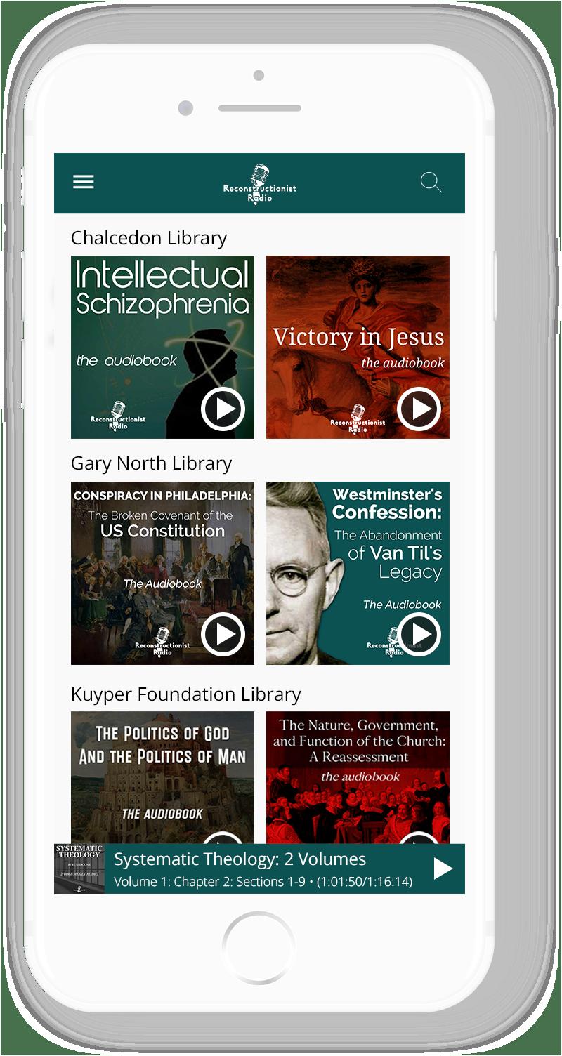 Reconstructionist Radio Mobile App 1