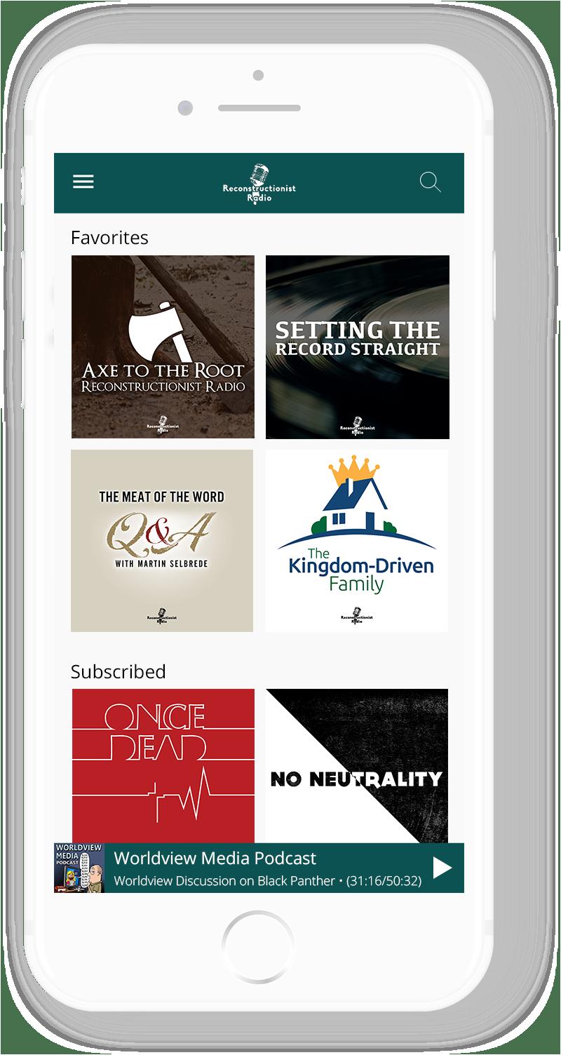 Reconstructionist Radio Mobile App 4