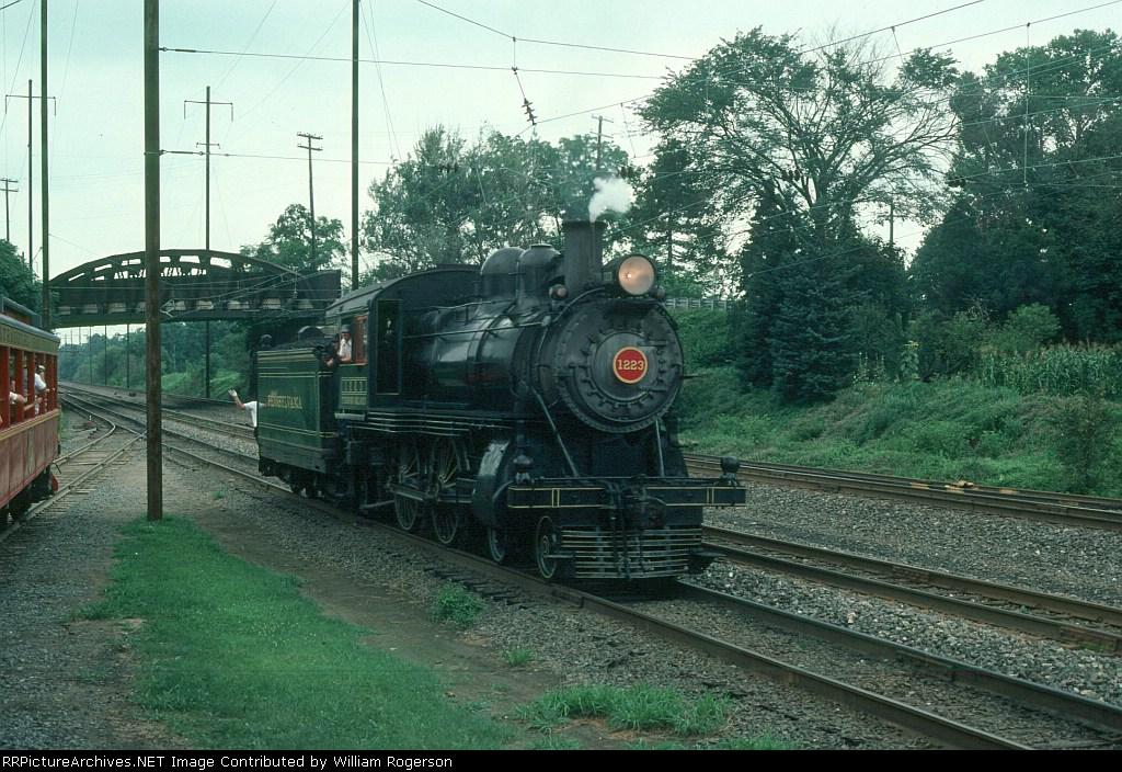 Pennsylvania Railroad (PRR) Juniata 4-4-0 Steam Locomotive