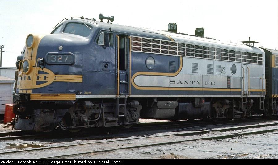 Ex Santa Fe Gp60 Bluebonnet In The San Diego Yard Trains