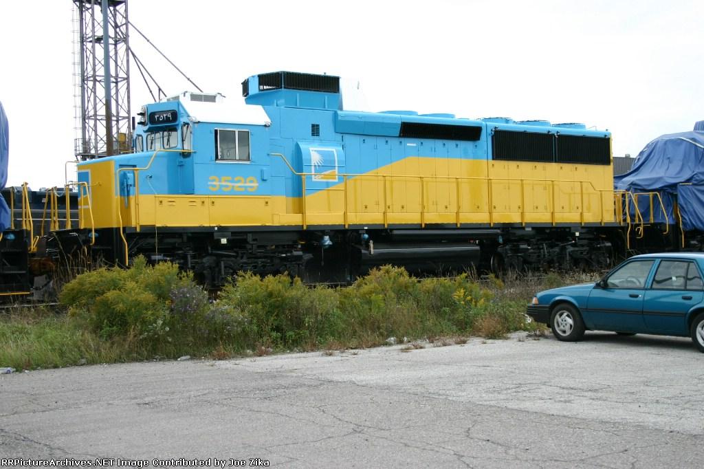 EMDX 2007 Saudi Railways 3529 SDL 50