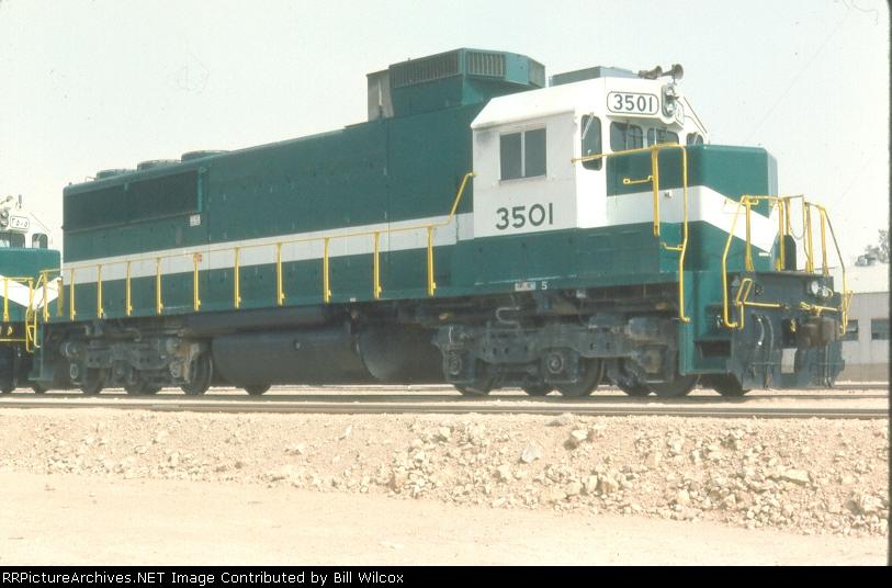 Saudi Railways Organization SDL50 3501