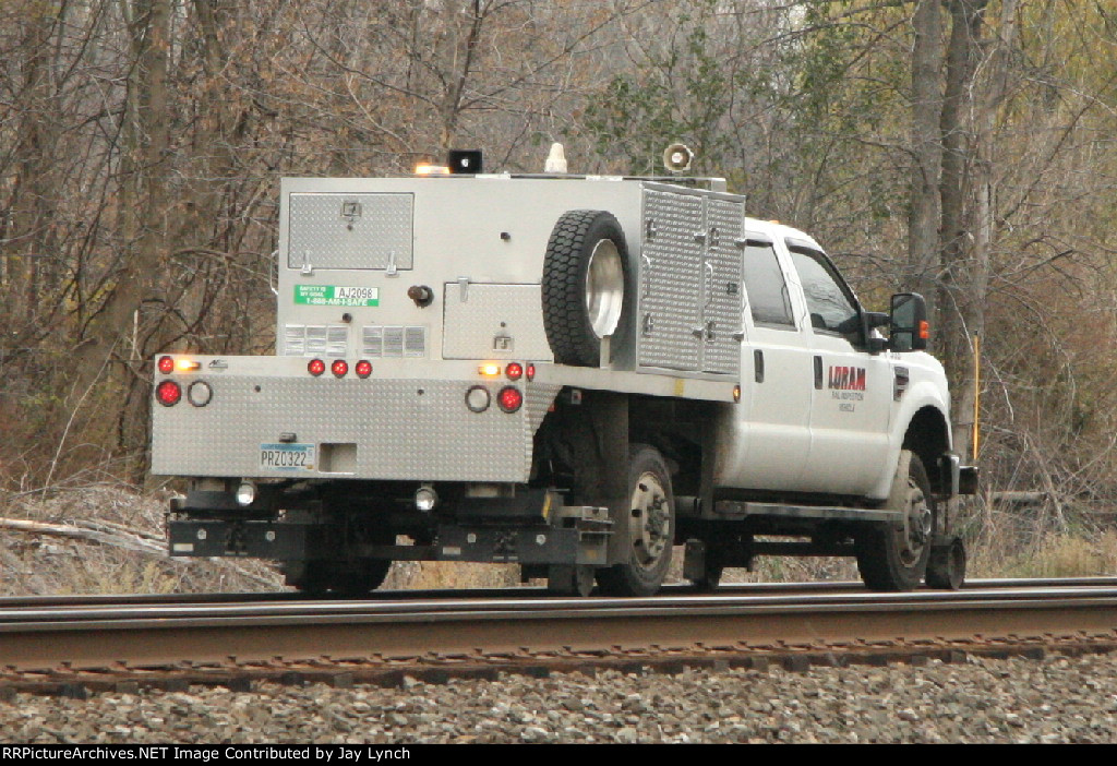 LORAM 363 Rail Inspection Vehicle