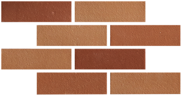 Architectural quarry - THIN BRICK RED BLEND-1