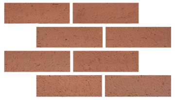 Architectural quarry - THIN BRICK ROJO-1