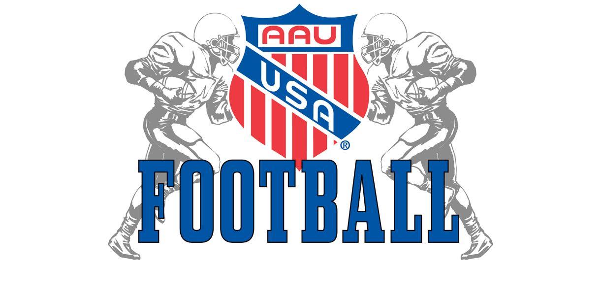 Aau football logo 2