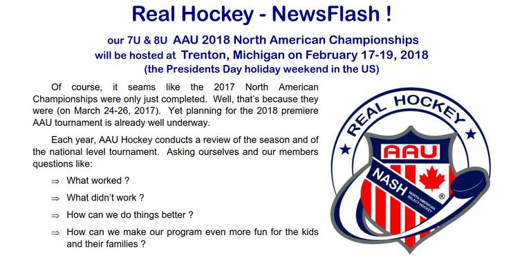 Aau ice hockey newsletter 2018 nash